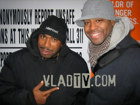 N.O.R.E. right after our interview