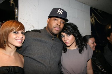 Nina Sky and Radio The Rahim BackStage
